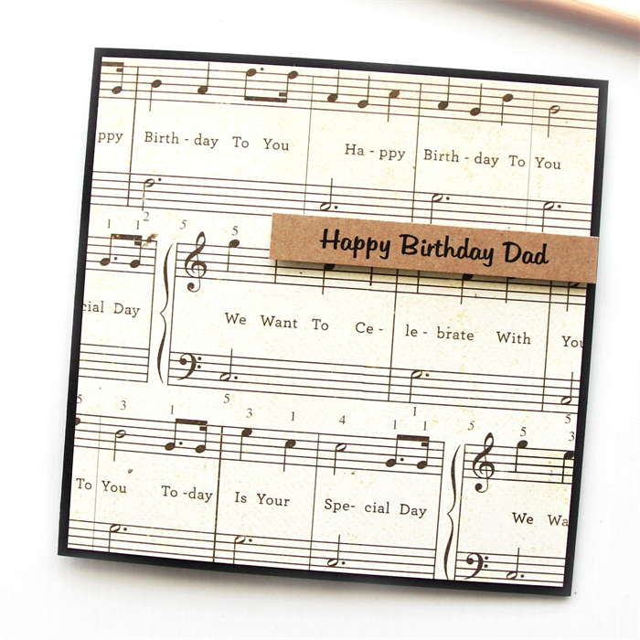 For Him Personalised Birthday card Custom Happy Birthday Daddy Dad – Custom Happy Birthday Card