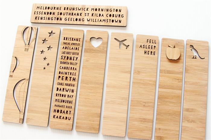 custom bookmark add text laser cut birthday christmas stocking