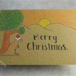 Kangaroo Christmas Card
