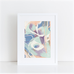 Hidden Gems - Contemporary Abstract A4 Giclée Print