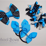 Bella 'Fun' School Bow Pack -  Custom Made in school colors