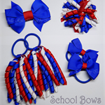 Bella 'Classic' School Bow Pack -  Custom Made in school colors