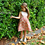 Girls Vintage Dress - size 4
