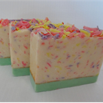 Spring Meadow Hand Made Soap, Gentle Floral Fragrance, Feminine,
