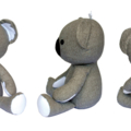 Koala Sewing Pattern Stuffed Animal Koala Softie PDF Sewing Pattern