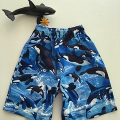 """Size 3, 4, 5 & 6 - """"Whale of a Time"""" Shorts"""