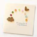 Personalised Christening Baptism Naming Day Card   Boy Girl Newborn   Rainbow