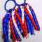 Large 'Curlz' School Hair Tie (1) - Custom Made in school colors