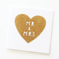 Mr & Mrs - Mr & Mr - Mrs & Mrs Card Wedding Engagement Anniversary Wife Husband