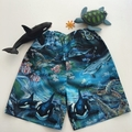 "Sizes 3, 4 & 6 - ""Life at Sea"" Shorts"