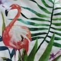 """""""Flamingo tropics"""" Romper you pick the size"""