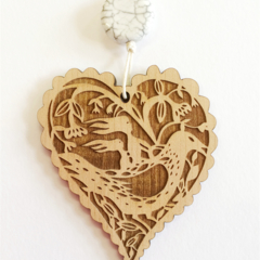 """""""Mothers and Daughters"""" pendant"""