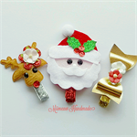 Christmas Hair Clip Set