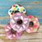 Felt donuts, play food, pincushion, doughnuts, room decor
