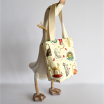 Toddlers tote, Cat handbag, Little girls tote, Girls shoulder bag