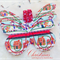 Boutique Christmas Butterfly Wings