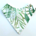 Palm leaf Bandana bib