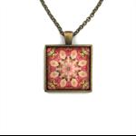 """Mandala 001""   Choose silver or bronze   The $10 Pendant"