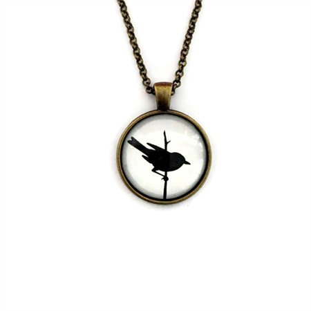 """Black Bird White 002"" 