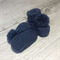 Made to Order - Stay On Booties - Hand Knitted - Size NB to 6 months - Wool