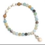 Amalfi blue stone bracelet
