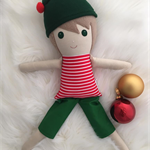 Elf ~ Stuart Elf cloth doll