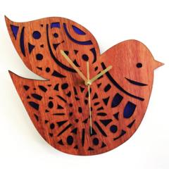 Jarrah Nordic Bird clock