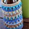 Blues & Browns Stubby Cooler/Bottle Cosy/Koozie