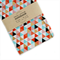 Multi Triangles Fabric Covered Notebook