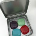 Fused Glass Magnet Set of 4