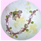 Pink flower bracelet