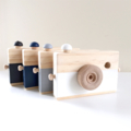 WOODEN CAMERA vintage style wood heirloom toy Nursey decor flatlay