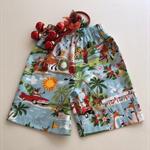 """Size 4 and 6 - """"Golfing Santa"""" Christmas Shorts"""