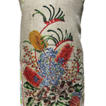 Metro Retro  Western Australia Vintage WildFlowers Apron - Birthday Mother's Day