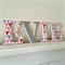 Wooden 9cm Wall or Door Letters. 4 Letters.