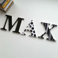 Name Plaque for Wall or Door.  9cm. 3 Letters.