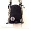 Handcrafted kimono fabric handbag- indigo shibori and indigo floral cotton