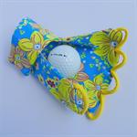 Glove: sun glove for golf, right hand, sunprotection, fingerless, UV protection