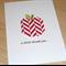 Teacher Thank you card - Origami Apple