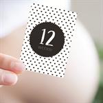 Pregnancy Baby Milestone Cards