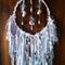 Dream Catcher White Decor Baby Boy Blue Bell Shell Star Bead Birth Shower Gift