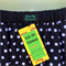 Retro Polka Dot A Line Skirt - ladies sizes avail - black, rockabilly