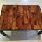 Pallet and Metal Coffee Table