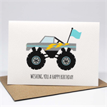 Birthday Card Boy - Monster Truck - HBC227