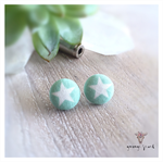 MINT STAR STUD SET (19mm)