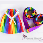 Dancing Ribbons with matching drawstring bag