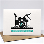 Birthday Card Boy - Drum Kit - HBC230