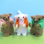 CUSTOM ORDER for JEN - Felt Mouse Miniatures