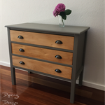 Three Drawer Vintage Dresser
