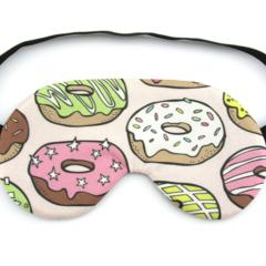 Large Donuts Sleeping Eye Mask / Night Mask